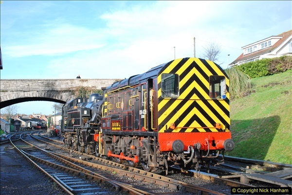2018-02-01 SR Close down period - out and about the railway.  (34)034
