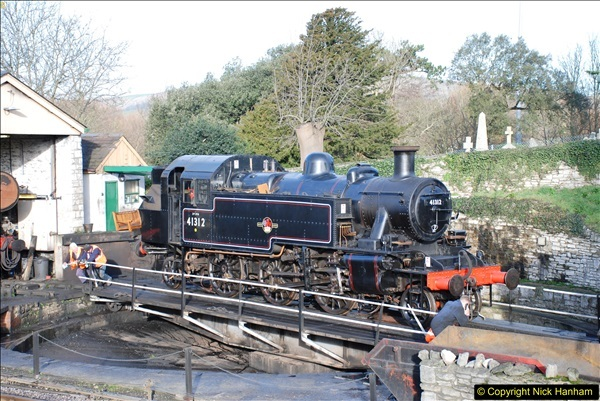 2018-02-01 SR Close down period - out and about the railway.  (41)041