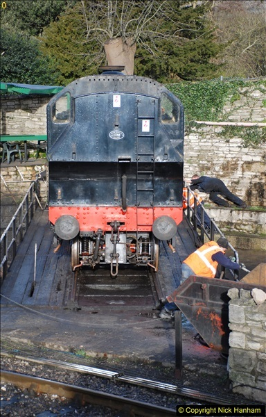 2018-02-01 SR Close down period - out and about the railway.  (45)045