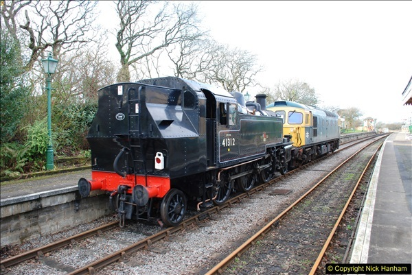 2018-02-01 SR Close down period - out and about the railway.  (88)088