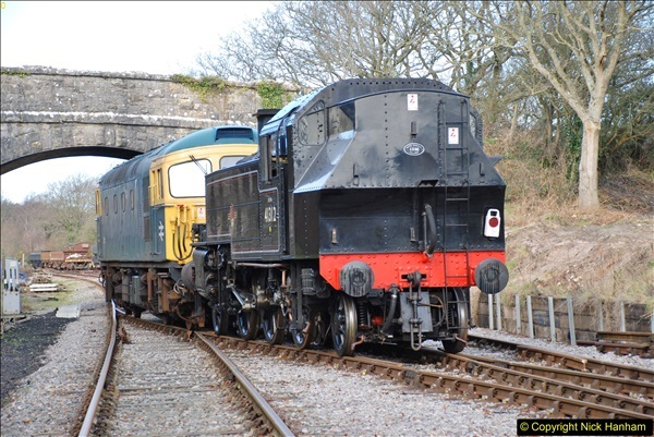 2018-02-01 SR Close down period - out and about the railway.  (109)109