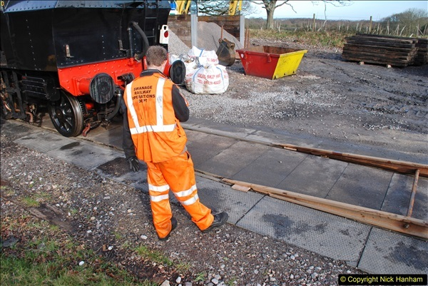 2018-02-01 SR Close down period - out and about the railway.  (112)112