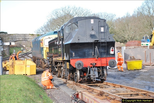 2018-02-01 SR Close down period - out and about the railway.  (116)116