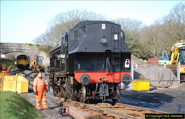 2018-02-01 SR Close down period - out and about the railway.  (124)124