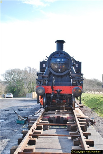2018-02-01 SR Close down period - out and about the railway.  (141)141