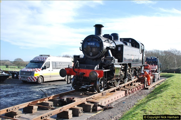 2018-02-01 SR Close down period - out and about the railway.  (142)142