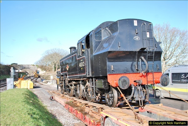2018-02-01 SR Close down period - out and about the railway.  (144)144