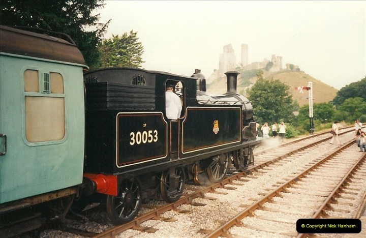 1995-08-12 First trains to Norden. Your Host acting as Inspector in the capacity of CSO.  (3)0232