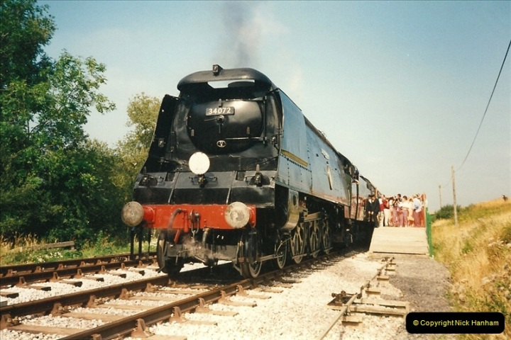 1995-08-12 First trains to Norden. Your Host acting as Inspector in the capacity of CSO.  (4)0233
