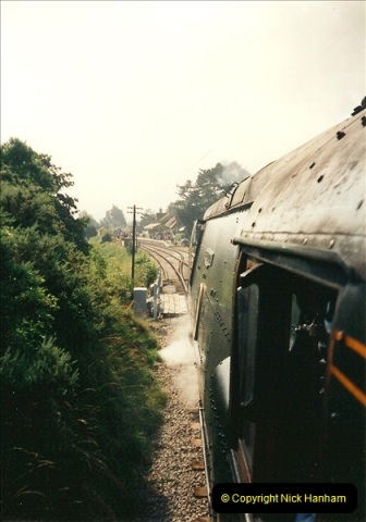1995-08-12 First trains to Norden. Your Host acting as Inspector in the capacity of CSO.  (6)0235