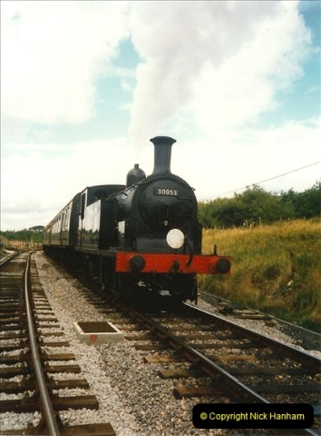 1995-09-02 Your Hosts first driving turn on the extension to Norden.  (2)0237