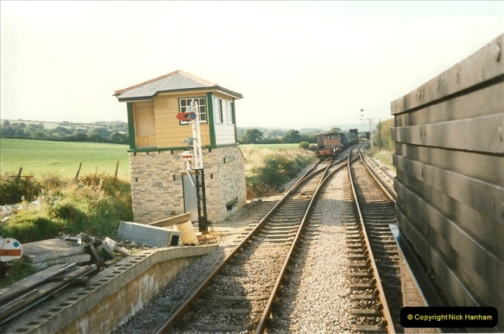 1995-09-02 Your Hosts first driving turn on the extension to Norden.  (3)0238