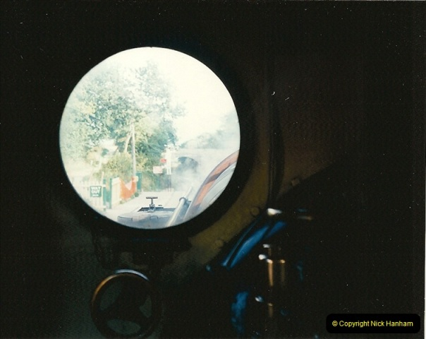 1995-09-02 Your Hosts first driving turn on the extension to Norden.  (14)0249
