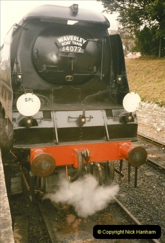 1996-09-22 Your Host driving the Waverley Boat Train.  (4)0371