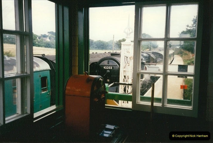 1997-07-14 to 18 My week driving 92203 & 34072.  (19)0542