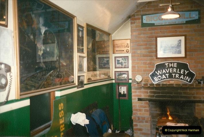 1997-12-14 Santa Specials driving the DMU.  (2)0571