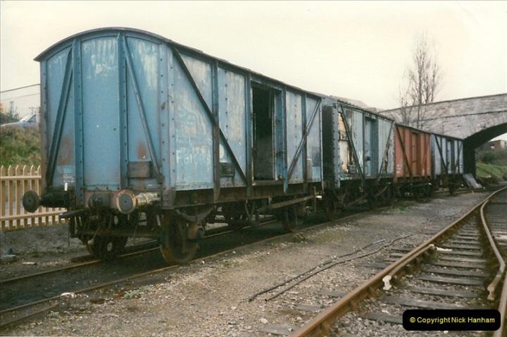 1997-12-14 Santa Specials driving the DMU.  (5)0574