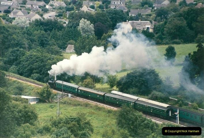 1998-08-01 Above Corfe Castle.  (5)0711