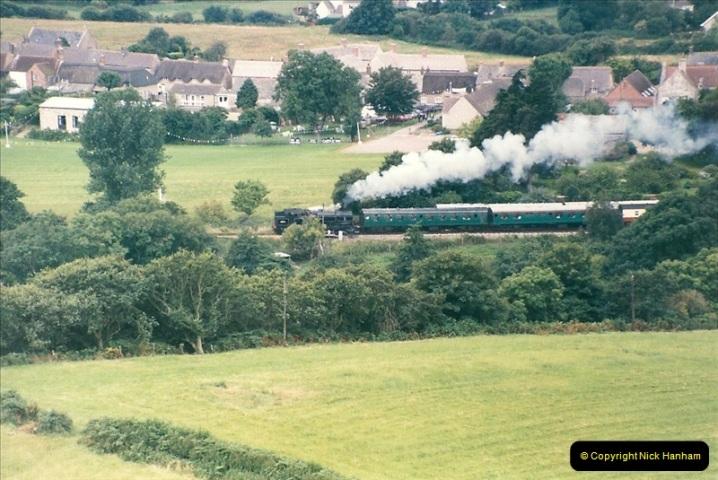 1998-08-01 Above Corfe Castle.  (9)0715