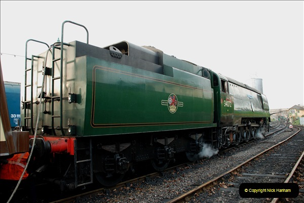 2018-12-08 Santa Specials at Swanage and Norden.  (46)046