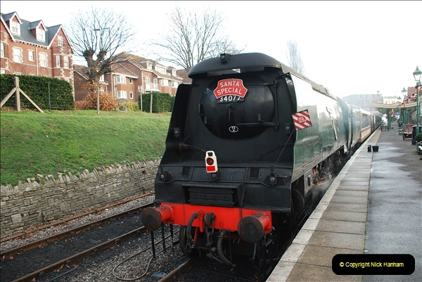 2018-12-08 Santa Specials at Swanage and Norden.  (48)048