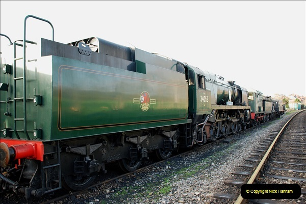 2018-12-08 Santa Specials at Swanage and Norden.  (61)061