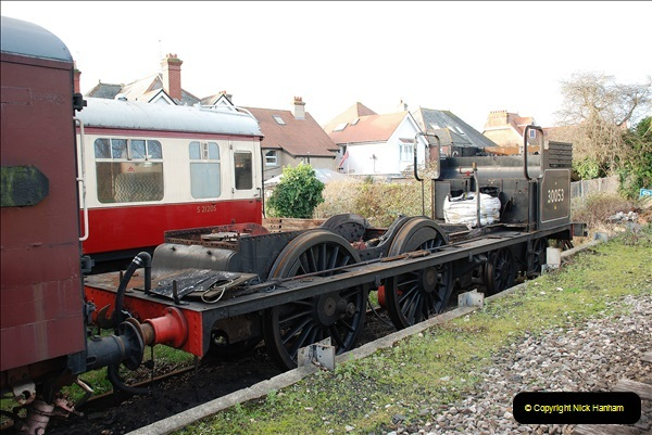 2018-12-08 Santa Specials at Swanage and Norden.  (67)067