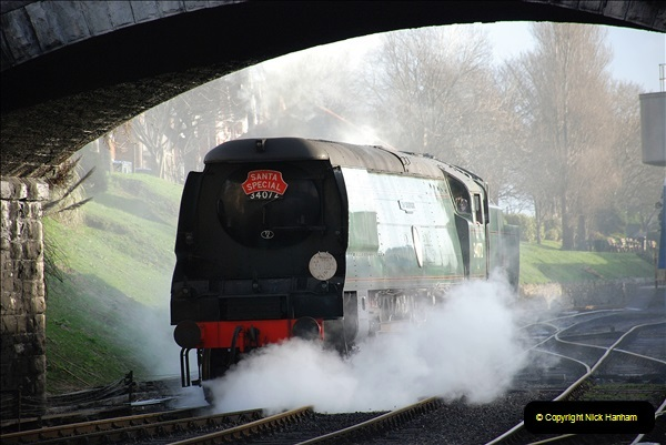 2018-12-08 Santa Specials at Swanage and Norden.  (71)071