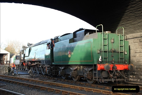 2018-12-08 Santa Specials at Swanage and Norden.  (77)077