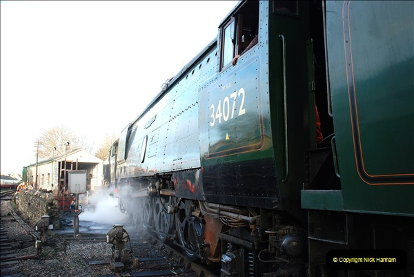 2018-12-08 Santa Specials at Swanage and Norden.  (78)078
