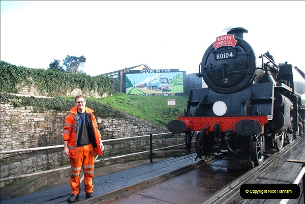 2018-12-08 Santa Specials at Swanage and Norden.  (83)083