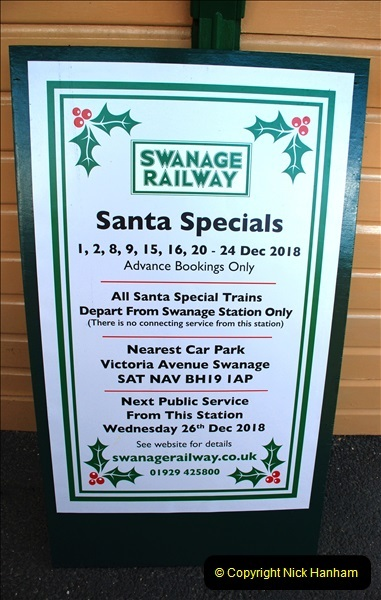 2018-12-08 Santa Specials at Swanage and Norden.  (100)100