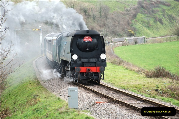2018-12-08 Santa Specials at Swanage and Norden.  (109)109