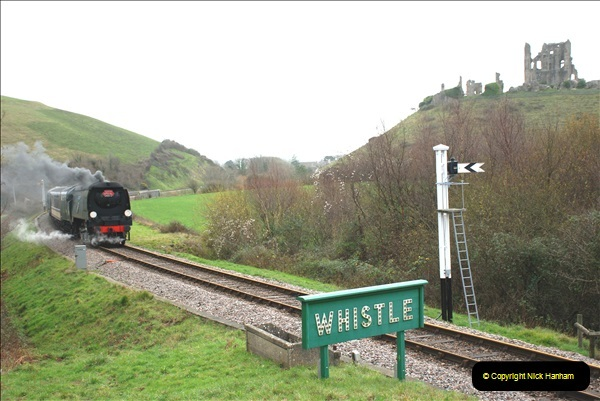 2018-12-08 Santa Specials at Swanage and Norden.  (110)110