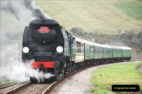 2018-12-08 Santa Specials at Swanage and Norden.  (111)111