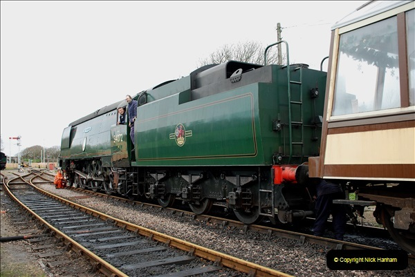 2018-12-08 Santa Specials at Swanage and Norden.  (121)121