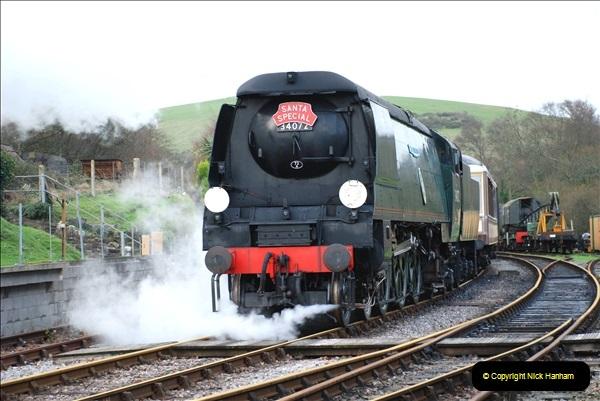 2018-12-08 Santa Specials at Swanage and Norden.  (124)124
