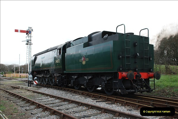 2018-12-08 Santa Specials at Swanage and Norden.  (127)127