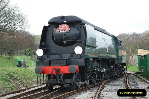 2018-12-08 Santa Specials at Swanage and Norden.  (129)129