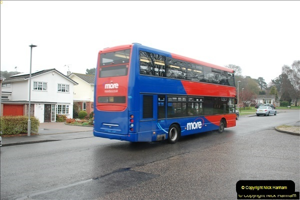 2018-04-09 First day of operation of the Route 20 by Wilts & Dorset.  (37)037