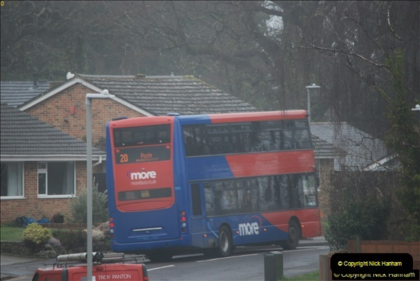 2018-04-09 First day of operation of the Route 20 by Wilts & Dorset.  (47)047