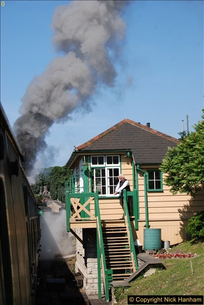 2017-06-01 A morning on the Swanage Railway.  (40)0273
