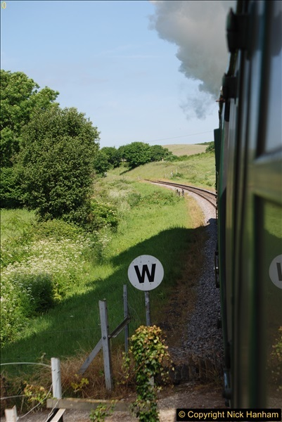 2017-06-01 A morning on the Swanage Railway.  (50)0283