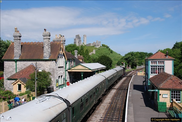 2017-06-01 A morning on the Swanage Railway.  (66)0299