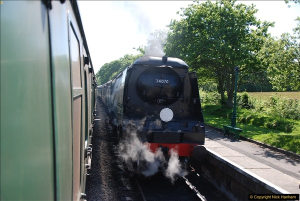 2017-06-01 A morning on the Swanage Railway.  (122)0355