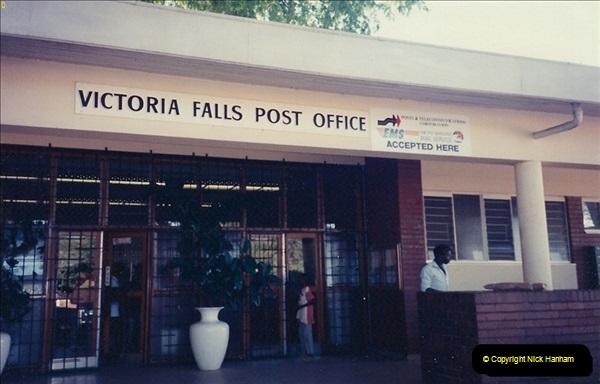 Zimbabwe. Victoria Falls April 1994. (1)191