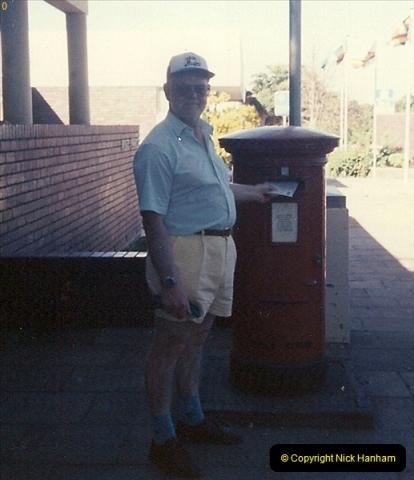 Zimbabwe. Victoria Falls April 1994. (2)192