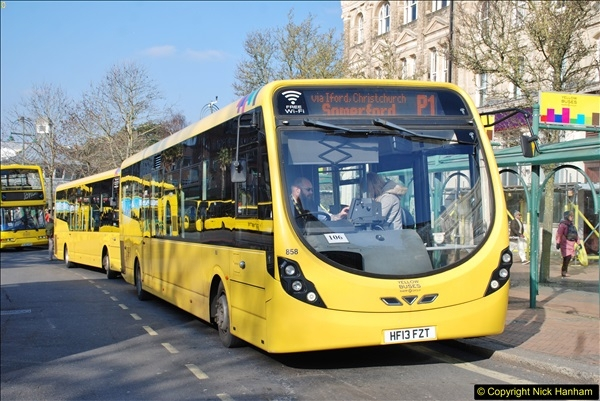 2018-02-23 Bournemouth Square and NEW W&D buses.  (4)004