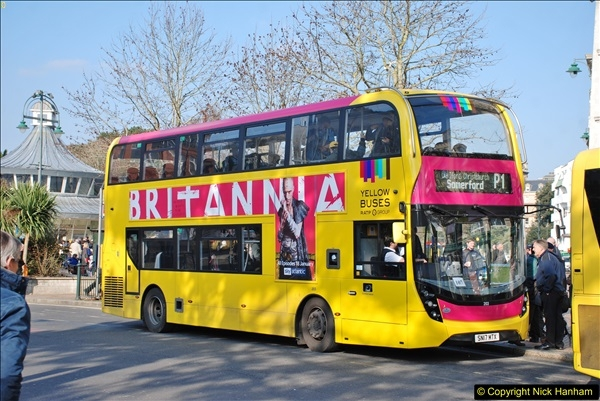 2018-02-23 Bournemouth Square and NEW W&D buses.  (5)005