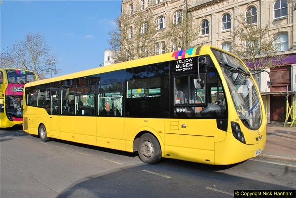 2018-02-23 Bournemouth Square and NEW W&D buses.  (6)006